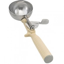 3 1/4 oz. Ivory Heavy Duty Color-Coded Disher
