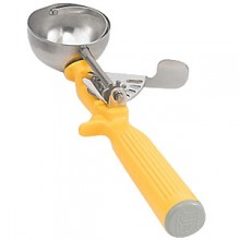1 5/8 oz. Yellow Heavy Duty Color-Coded Disher