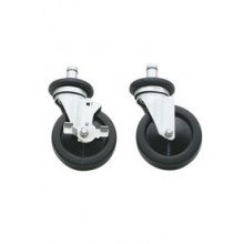 Set of 4 Casters, 2 w/Brakes for VG Series Ranges