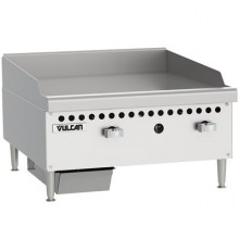 "24"" W 2 Burner Restaurant Series Gas Griddle"