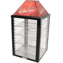 1 Door 4 Shelves Rear Serve Merchandiser