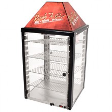 2 Door 4 Shelves Self Serve Merchandiser