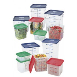 2 Quart CamSquare® Food Storage Container - Clear