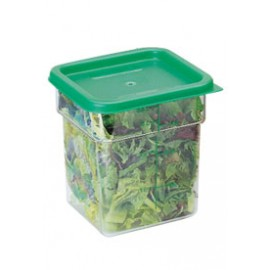 4 Quart CamSquare® Food Storage Container - Clear