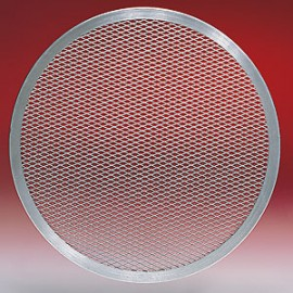"14"" Diameter Aluminum Pizza Screen"