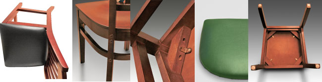 Five Key Pieces of Wood Restaurant Furniture Construction