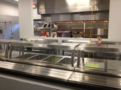 Commercial Restaurant Equipment Leveling Guide - Finished Result