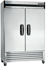 Norlake Two Door Commercial Refrigerator