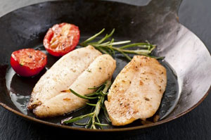 Pan Seared Fish with Herbed Vegetables Recipe