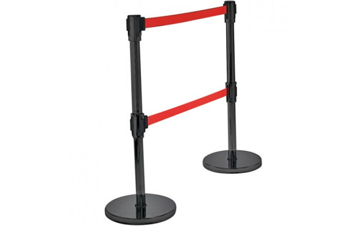 Traffic Control System Double Belt Post
