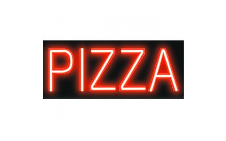Budget Neon Sign - PIZZA