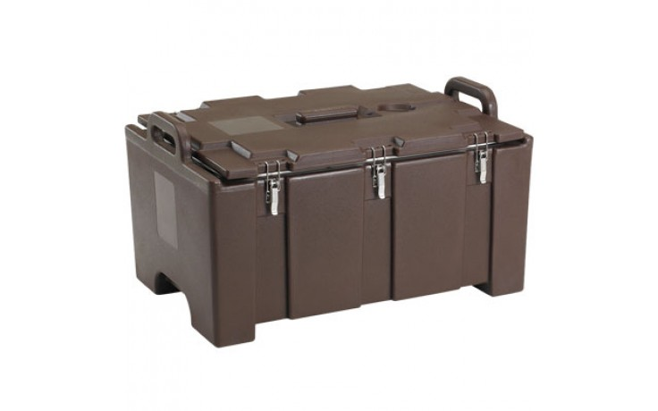 """Three 2 1/2"""" Deep Full Size Pan Capacity Camcarriers®"""
