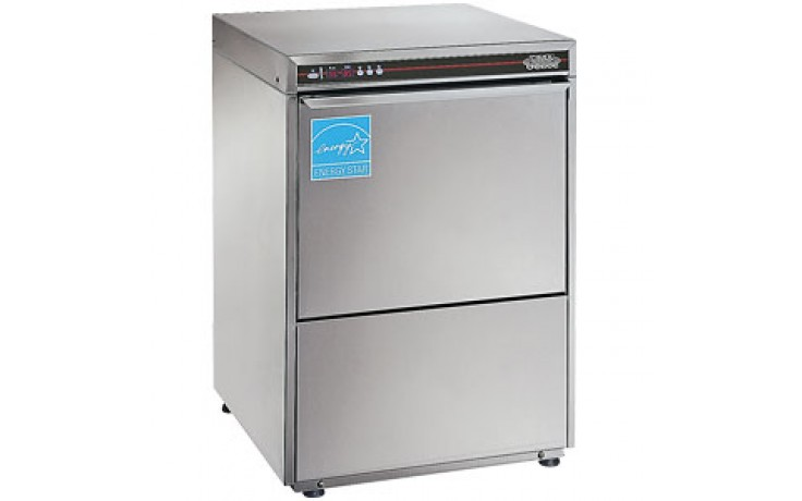 High-Temp Undercounter Dishwasher with Booster