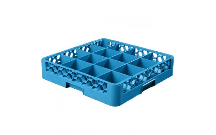 """4"""" H 16 Compartment Opticlean™ Glass Rack"""