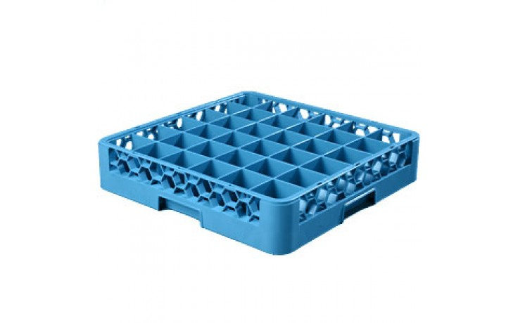 """4"""" H 36 Compartment Opticlean™ Glass Rack"""