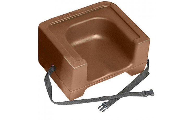 Plastic Dual Booster Seat with Strap