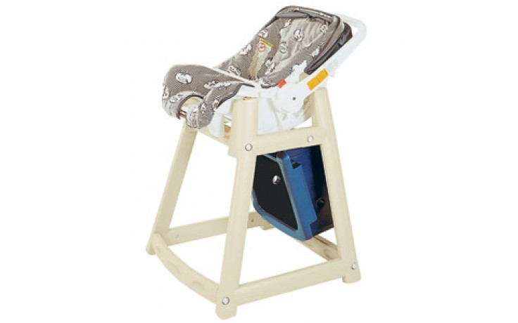 Kidsitter™ High Chair with Casters