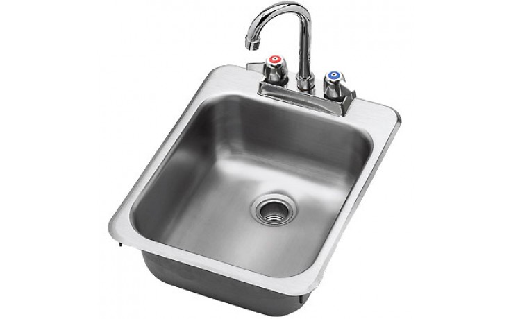 "13""W Drop-In Hand Sink"