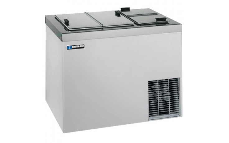 """43"""" W 13 Tub Dipping Cabinet - Stainless Steel"""