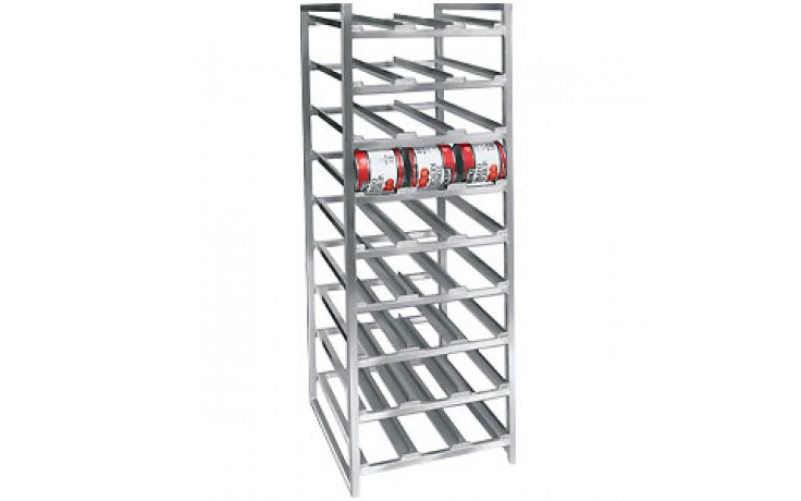 Stationary Can Rack
