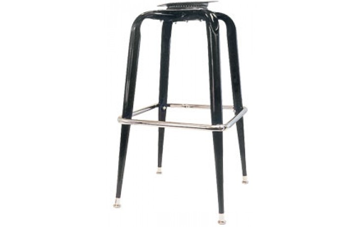 Black Box Bar Stool Frame with Pitched Swivel