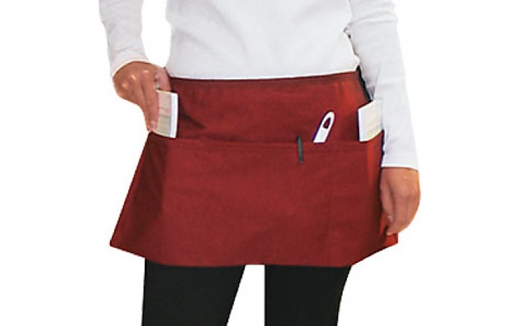 "12"" x 24"" Front-Of-The-House Waist Apron"
