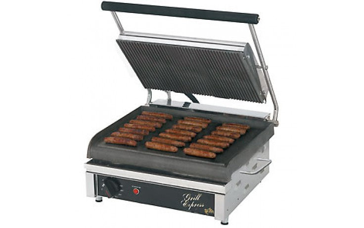 Grooved Large Grill-Express™ Panini Grill