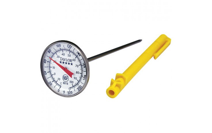 """1 3/4"""" Dial Pocket Test Thermometer"""