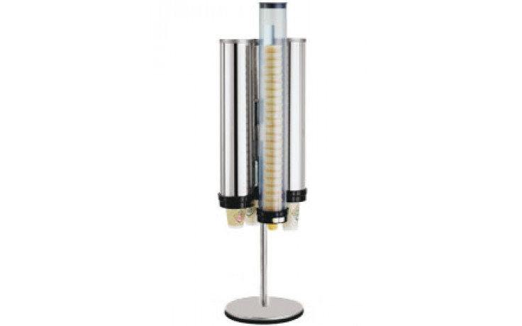 Simpli-Flex® Rotary Type Cone Stand Fits 4 Dispensers