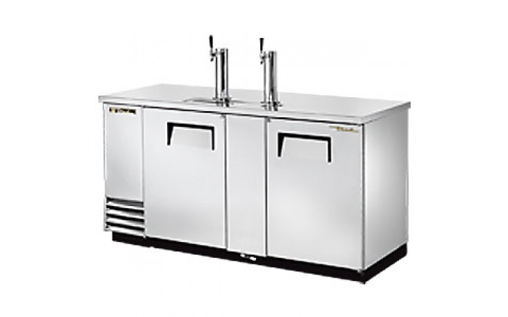 """69"""" Wide Direct Draw Draft Beer Dispenser - Stainless Steel"""
