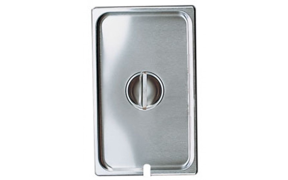 """20 3/4"""" x 12 3/4"""" Full Size Steam Table Pan Slotted Cover"""