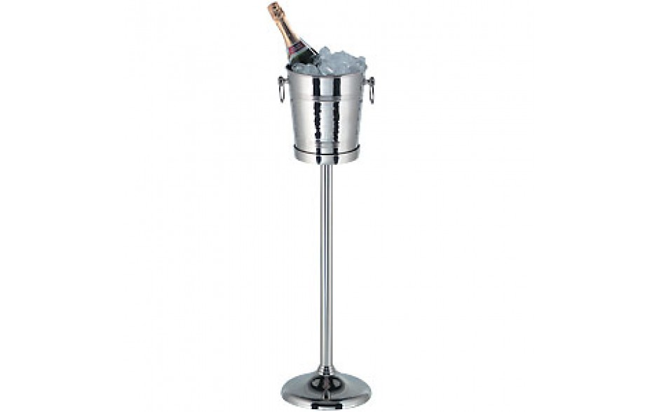 Nickel Plated Stand and Bucket