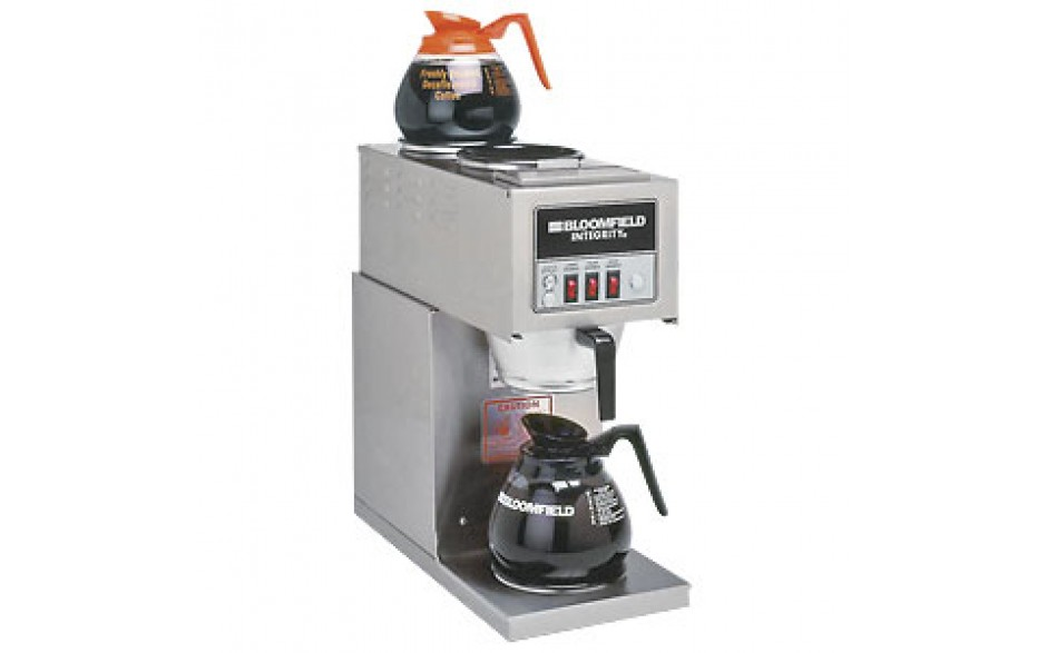 """8 3/4""""W x 18""""D x 18 7/8""""H Three Station Pourover Brewer"""
