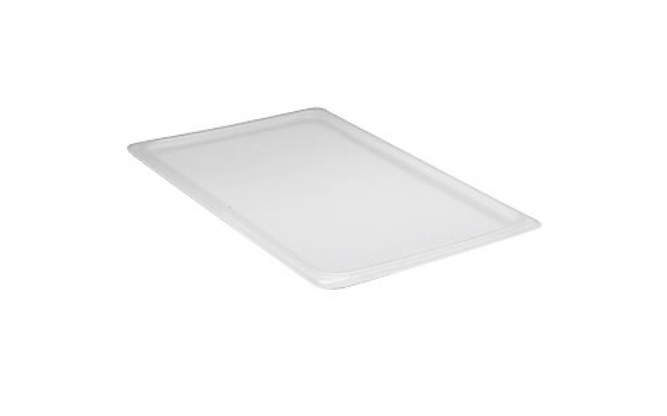 """12 3/4"""" x 20 7/8"""" Full Size Translucent Food/Storage Pan Seal Cover"""