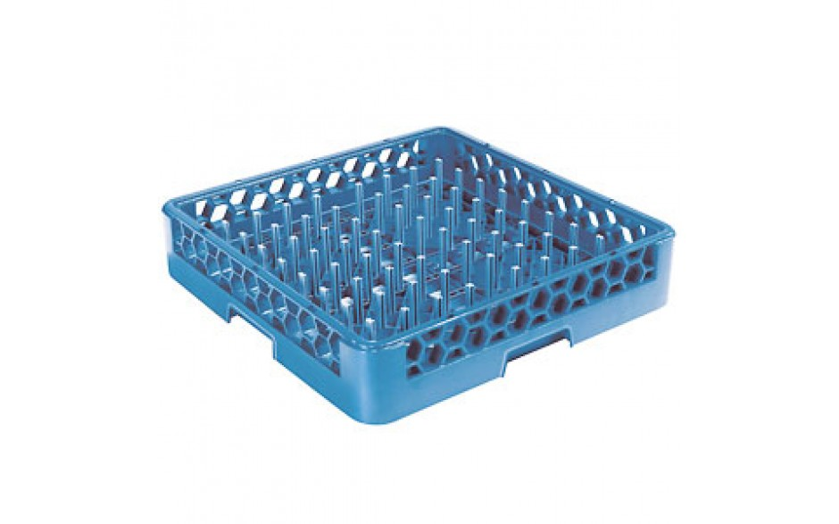 """Plate/Tray with 2 1/4"""" Pegs Opticlean™ Dish Rack"""
