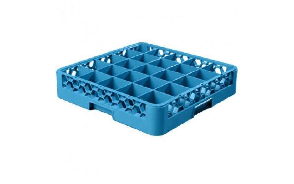 """4"""" H 25 Compartment Opticlean™ Glass Rack"""