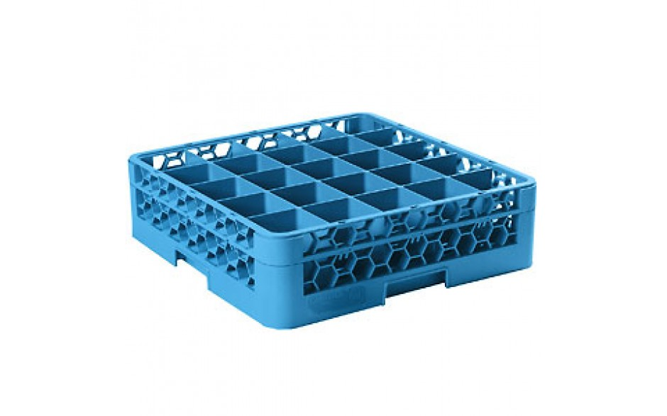 """5 9/16"""" H 25 Compartment Opticlean™ Glass Rack"""