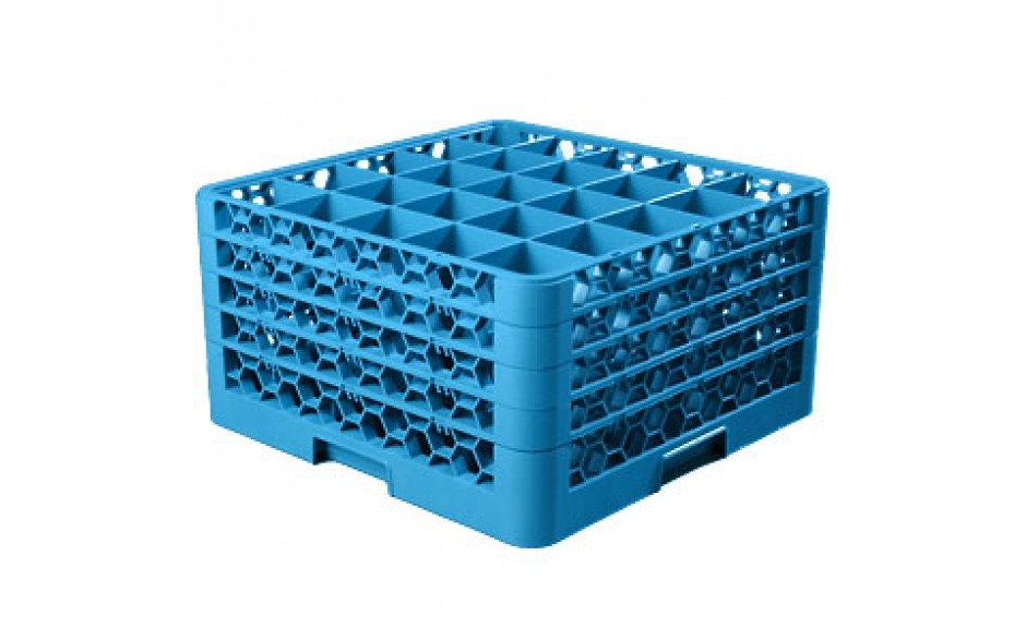 """10 5/16"""" H 25 Compartment Opticlean™ Glass Rack"""