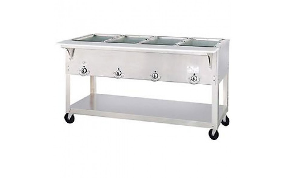 4 Opening Aerohot® Portable Electric Hot Food Unit with Exposed Elements