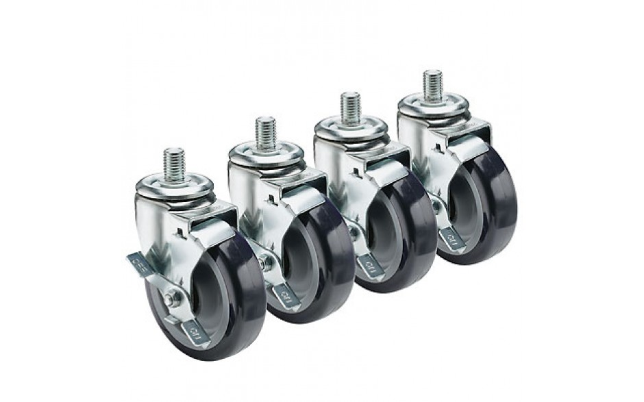"""½"""" HD Threaded Stem Casters – 5"""""""