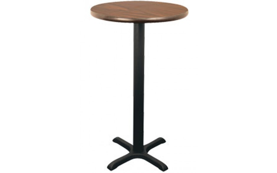 """30"""" Round Complete Double-Sided Stand-Up Table"""