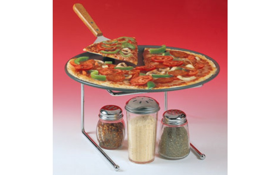"""Chrome 12"""" x 12"""" x 7"""" H Table Stand"""