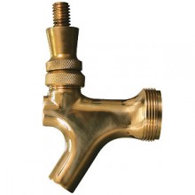 Brass Beer Faucet with Brass Lever