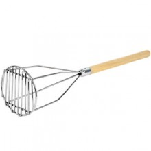 "24"" L Round Potato Masher"