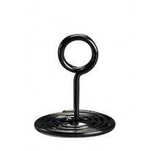 "1 1/2"" Black Swirl Base Stand"
