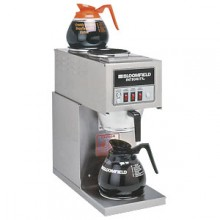 "8 3/4""W x 18""D x 18 7/8""H Three Station Pourover Brewer"
