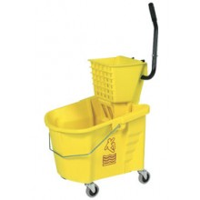 Down-Press Wringer Heavy Duty Mopping Combo