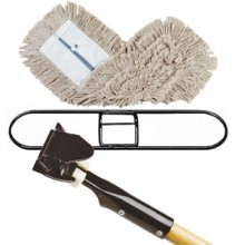 "24"" Launderable Dust Mop Set"
