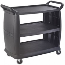"42"" x 23"" Large Bussing Cart"