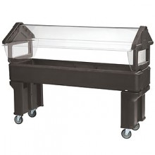 6' Stand-Up - Open Base Six Star™ Food Bar